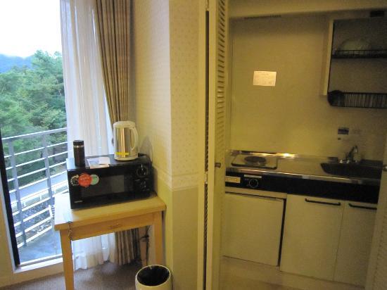 Hotel Hakuba: mini kichin