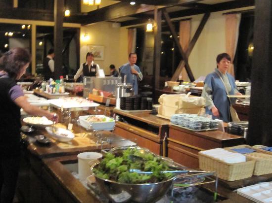 Hotel Hakuba: dinner