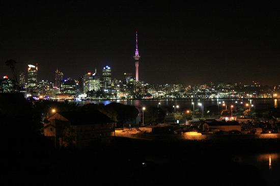 Auckland Takapuna Oaks: View of Auckland from the Skybar