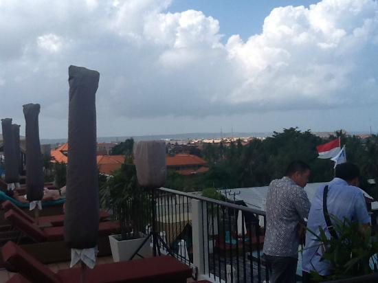 The ONE Legian: Roof Top View