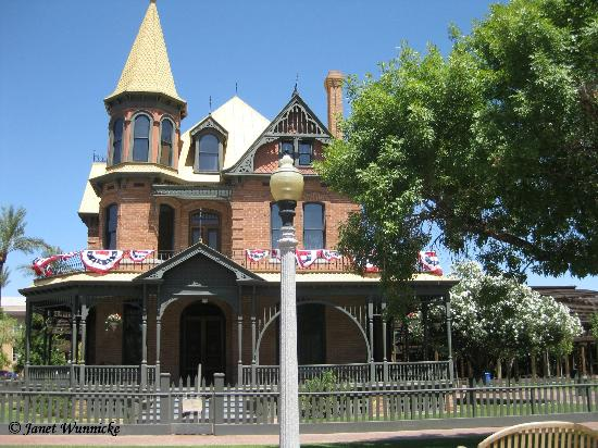 Phoenix, AZ: Rosson House-front-west side