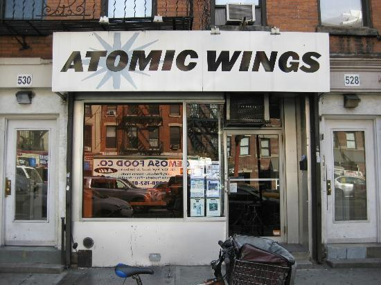 Atomic Wings 9th Ave: Exterior - Front