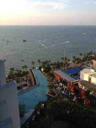 Hilton Pattaya: view from my room