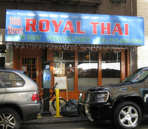 Royal Thai Cuisine: Exterior - Front