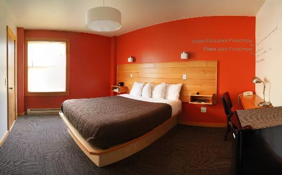 Inn of the White Salmon: Eco-friendly rooms