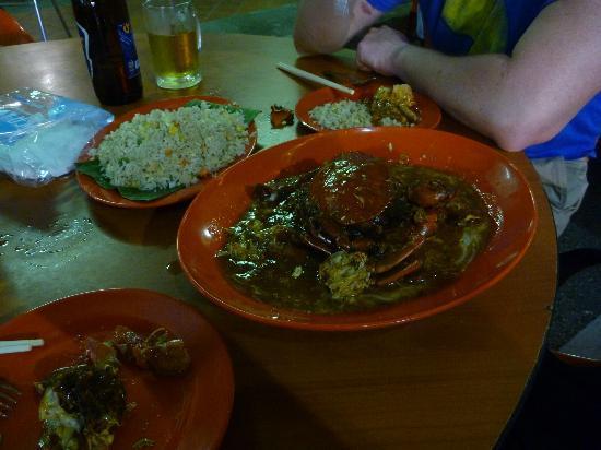 الحي الصيني: Chilli crab 