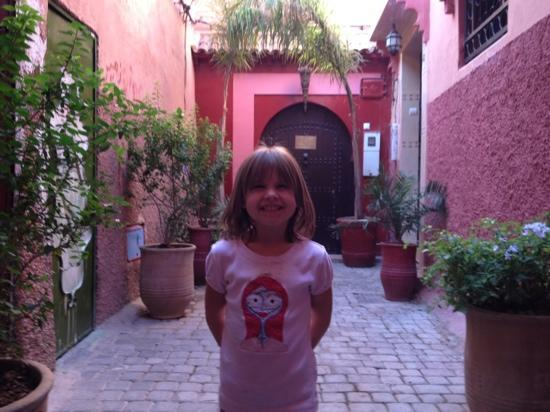 Riad La Porte Rouge: the front entrance