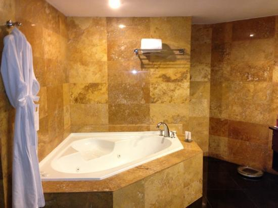 Le Meridien Panama: bathroom in Gold suite!