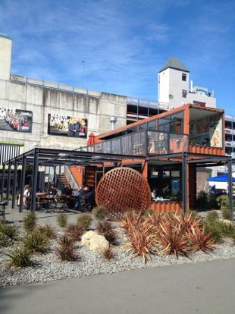 Towers on the Park: great container dining in the city