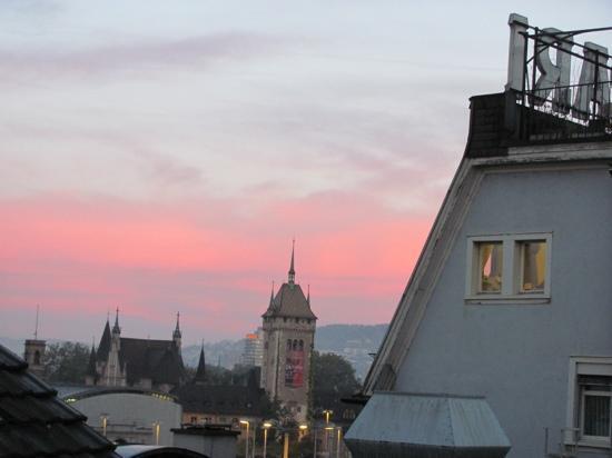 Sorell Hotel Rütli: view from Rutli Hotel Zurich