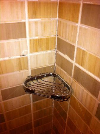 Hilton Pyramids Golf: More mold in the bathroom