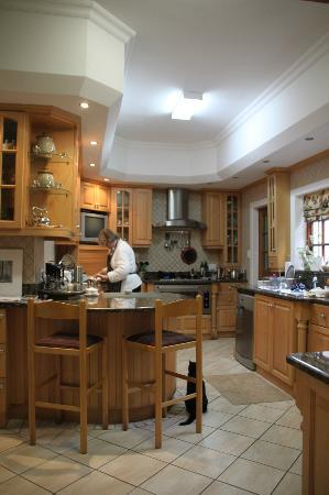 Edenwood Guest House: Kitchen area