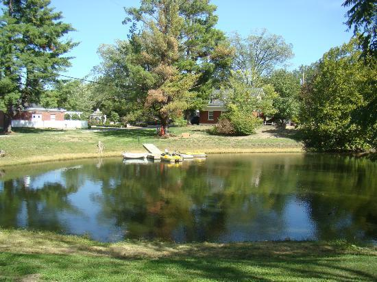 Inn on Crescent Lake: View of the lake.