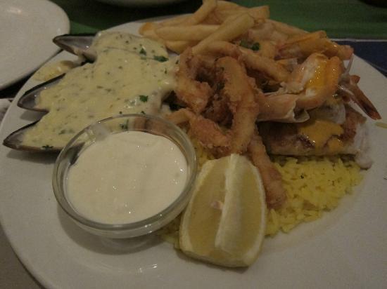 King Fisher: Seafood Platter