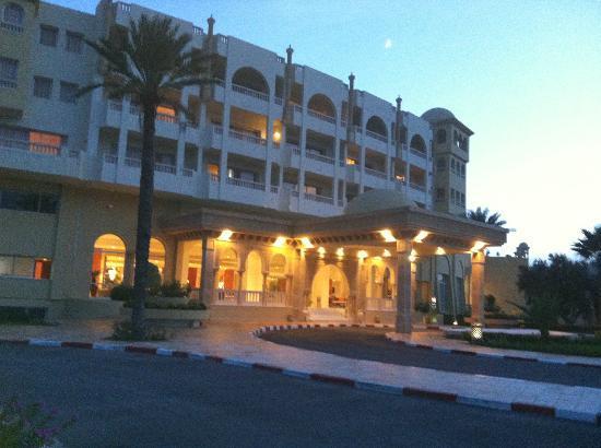 Hotel Palace Hammamet Marhaba: Entrada do Hotel