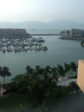 Hong Kong Gold Coast Hotel: view from room