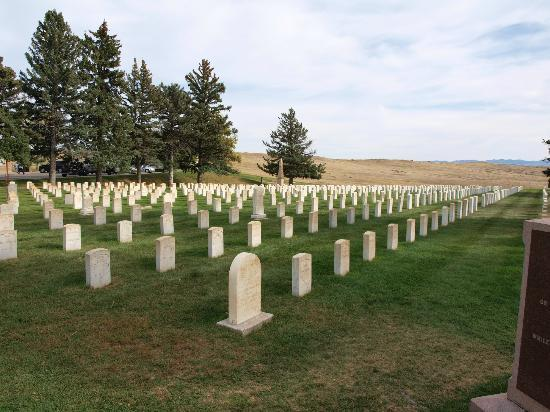 Crow Agency, MT: Little Bighorn National Monument