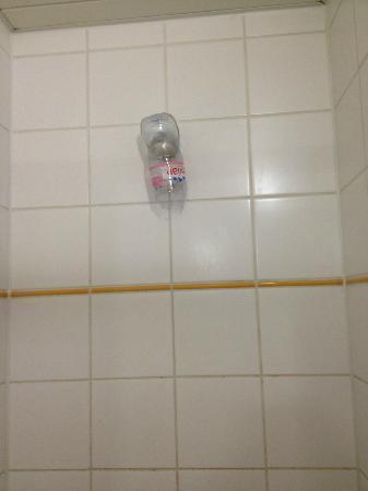 Bruegel Youth Hostel: Dusche mit Duschenkopf 