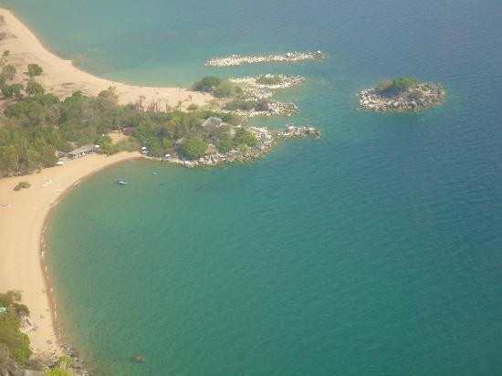 Kaya Mawa from the air.