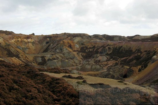 Amlwch Copper Kingdom: A colourful, barren landscape
