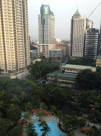Edsa Shangri-La: View from my Room