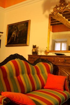 Albergo Morlacchi: Living room / Breakfast room