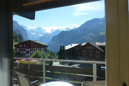 Hotel Baeren: The view!