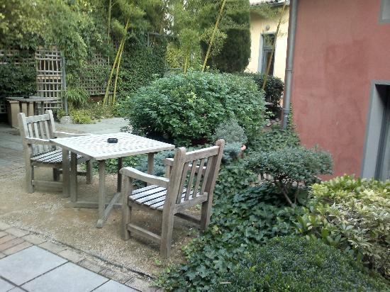 Cour des Loges: garden terraces