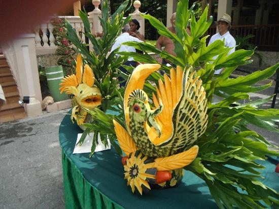ClubHotel Riu Merengue: Fruit Art