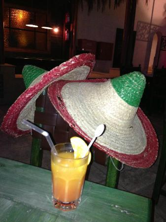 Mexican Restaurant : The obligatory sombreros!