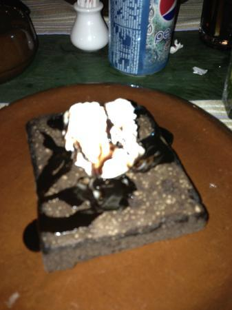 Mexican Restaurant : Chocolate Brownie