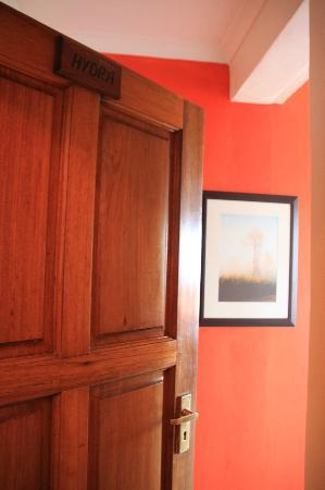 Blue Oyster B&B: Entrance to Hydra room
