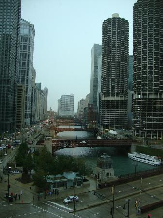 Wyndham Grand Chicago Riverfront: View from our window