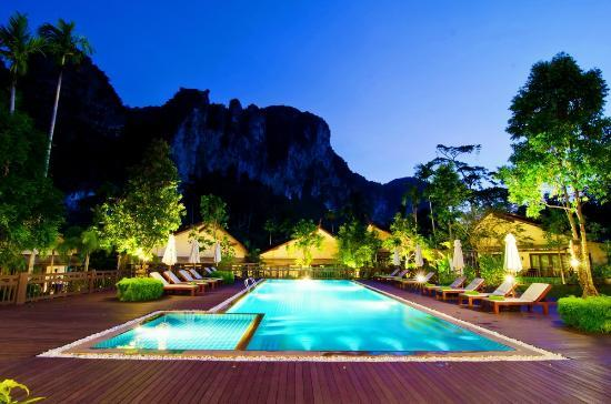 Aonang Phu Petra Resort, Krabi: Swimming Pool