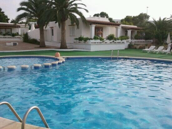 Residencial Bogamari Villas: vista desde la piscina