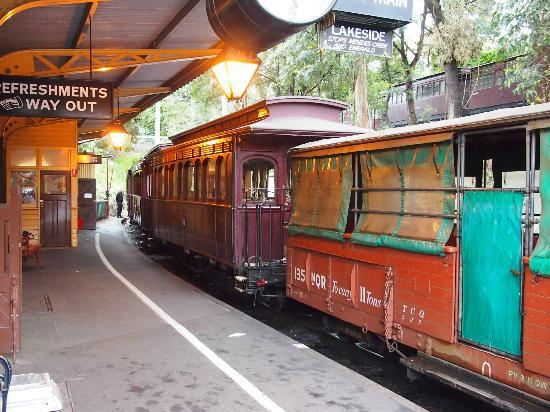 Puffing Billy Railway: Getting ready for the journey