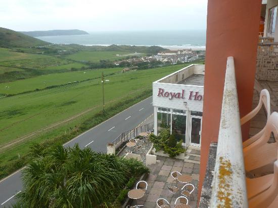 Royal Hotel: Lovely views