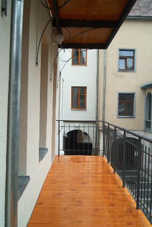 Pension U Jakuba: Balcony/Terace
