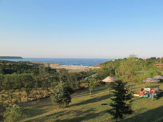 Kiyikoy, Tyrkia: Vacker utsikt från rummets balkong