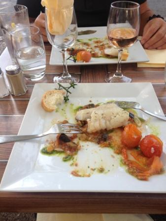 Gascogne Café : excellent sea bass
