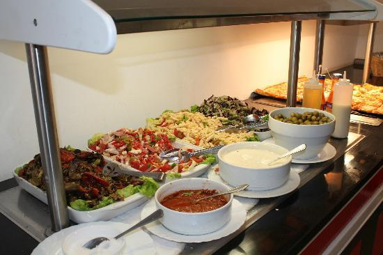 Samira Club: A selection from the snack bar