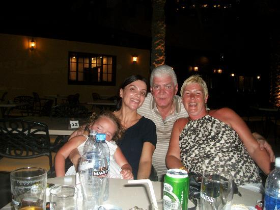 Al Hamra Residence & Village: ronnie and nataly who live in ras alkhaimah