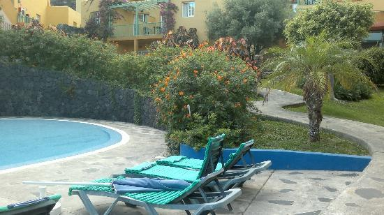 La Caleta : Zona de la piscina