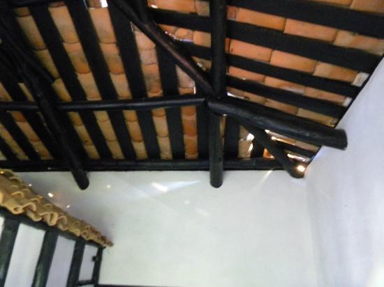 Hacienda Anacaona: Zwangsbelüftung durch die Dachziegel
