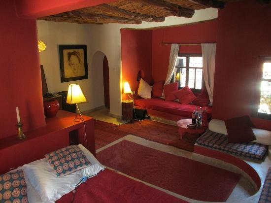 Riad Baoussala: Chambre Rouge