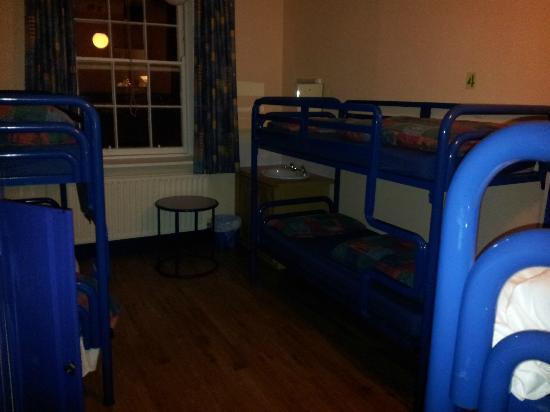 Dublin International Youth Hostel: La camera