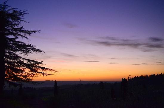 Il Casale del Cotone: Sunrise