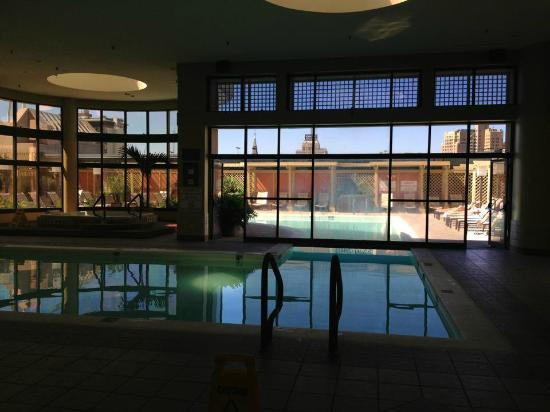 San Antonio Marriott Rivercenter: Indoor pool