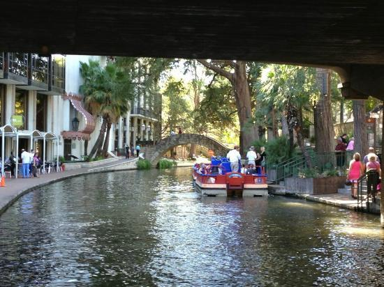San Antonio Marriott Rivercenter: Riverwalk