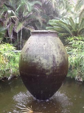 hacienda san jorge fuentes en el jardin